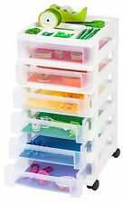 Cart Storage Organizer 6 Drawer Mobile Rolling Office Home School Supplies Craft