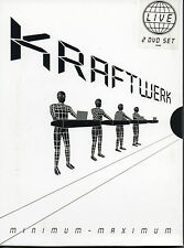 "KRAFTWERK ""MINIMUM-MAXIMUM"" 2 DVD SET / HUTTER - SCHNEIDER - SCHMITZ - HILPERT"