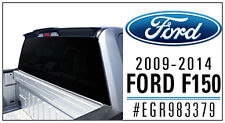 For: FORD F-150; 983379 TRUCK CAB Spoiler MATTE BLACK 2009-2014