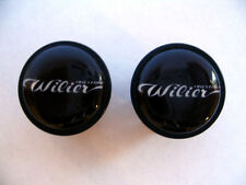 Wilier handlebar bike caps, Wilier Bike frame logo end plugs, Wilier bike caps