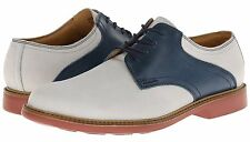 New $198 Cole Haan Great Jones Saddle Nubuck Leather Oxford Lace-Up Alloy *8