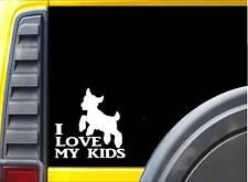 I Love My Kids k571 Sticker 6 inch goat decal