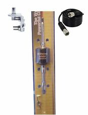 Wilson 305-492 Trucker 2000 BLACK CB Radio Antenna,18FT COAX,RV1 BRACKET & STUD
