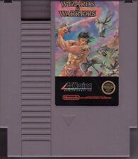 WIZARDS & WARRIORS and ORIGINAL NINTENDO GAME NES HQ