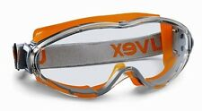 UVEX ULTRASONIC 9302-245 SAFETY GOGGLES - ANTI MIST & SCRATCH