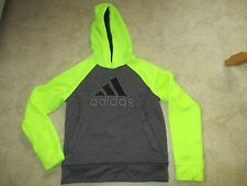Hoody Adidas Ultimate Hoodie Gray and Neon size S 8