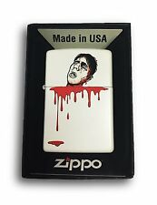 Zippo Custom Lighter - Beheaded - Regular White Matte