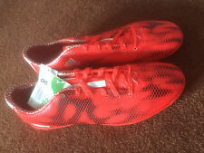 Men's Adidas F10 Artificial Grass Football Boots Adult Size 9 1/2 (UK) BNIB