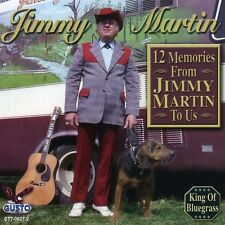 12 Memories From Jimmy Martin To Us - Jimmy Martin (2008, CD NEU)