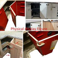 1PC Folded Cabinet Door Hinges 135° Degree Corner Kitchen Bathroom Cupboard