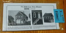 American Model Builders N #647 The Hillview Fire House (Laser Cut Kit) 1:160