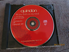Quindon Promo CD It's You Thats On My Mind 1996 Virgin