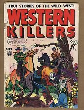Western Killers 60 (FR) Fox Features 1948 Extreme Violence Lingerie (c#06875)