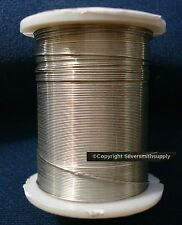 Craft wire 32ft silver plated round wire 28 ga create wire wrapped jewelry pw114