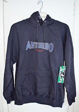 Anti Hero Skateboards Hoodie Pullover Gray Small Size