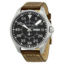 Hamilton Khaki Aviation Pilot Black Dial Mens Watch H64611535