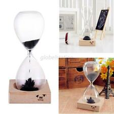 Magnetic Timer Sand Hourglass Desktop Decoration Iron Fillings Gift clock filled