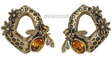 Alexander McQueen Skull earrings BOXED & Authentic Perfect Gift