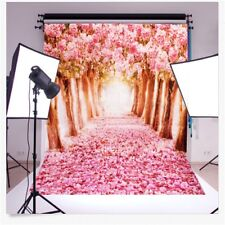 1.5m*1m Sakura Tree Photography Backdrop Baby Photo Background Studio Prop