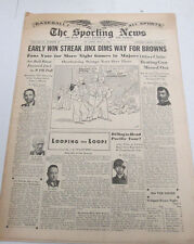 The Sporting News Newspaper   Joe DiMaggio  May 4, 1944   101014lm-eB3