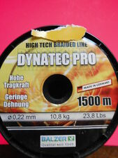 DYNATEC PRO rundgeflochtene Sehne BALZER HIGH TECH BRAIDED LINE 0,13mm 6,8kg