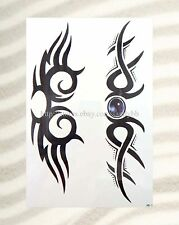 """shoulder arm tribal totem tramp stamp extra large size 8.25""""arm tattoo temporary"""