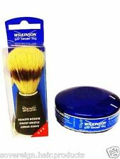 WILKINSON SWORD SHAVING SOAP AND SHAVING BRUSH......with  same day dispatch