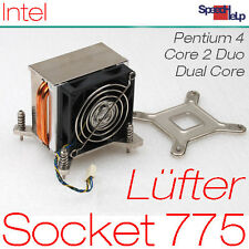 Socket 775 effective copper Cooler ventiladores con cobre caloducto Intel s775 300