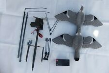 Pigeon Shooting Starter Kit Flocked Decoys Magnet Rotary 12v 7ah Battery Hunting