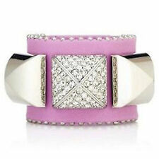 NEW Juicy Couture Bracelet Pyramid Stud Cuff Violet