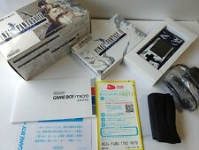 NEW Nintendo Gameboy Micro Final Fantasy 4 limited edition console set-S4-
