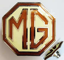 MG Spare Wheel Badge for MGTC & MGTD / MG TC MG TD, MG part AAA523