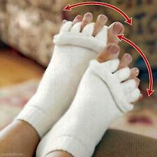 Unisex Massage Socks Yoga Correction Foot Pain Relief Separated Feet Care Sock