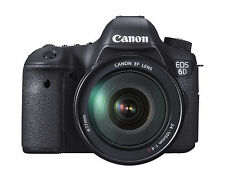 Canon EOS 6D 20.2 Megapixels Digital Camera - Black (Kit w/ EF 24-105mm F/4L)