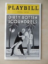 April 2006 - Imperial Theatre Playbill - Dirty Rotten Scoundrels - Pryce