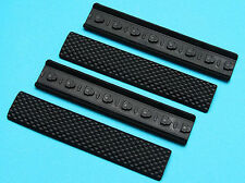 G&P Keymod Soft Rail Cover Type A (Black) For Airsoft Toy -  GP-COP057B