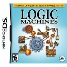 Logic Machines [Nintendo DS DSI, VIdeo Game, 85 Exclusive Puzzles] Brand NEW