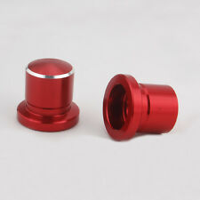 Red 2x Dustproof Shock Absorber Screws Cap Cover For Sylphy X-Trail Altima 08+