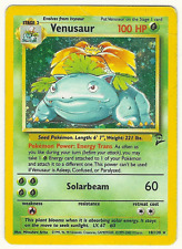 Pokemon Venasaur (Base Set 2) - 18/130 Fair Condition