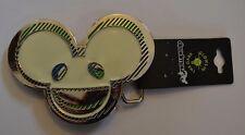 """DEADMAU5 Deadmouse LOGO Metal Neon Glow in the Dark Belt Buckle 4"""" by 3"""""""