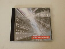 REDROQUE - The world as we see it - UK 12-track CD vinyl LP