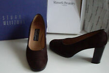 RUSSELL&BROMLEY STUART WEITZMAN Classic Platform Court Shoes UK4 EU37 US6