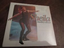 CD single promo sheila medley disco original wagram  neuf et scellé