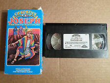 Tested Childrens Heros of the Bible VHS Story of Joseph and His Coat Many Colors