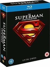 The Superman 5 Film Collection 1978-2006 Blu-ray Region Free