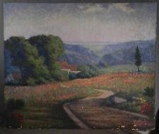 Vintage Modern 20th Century Landscape American Impressionist Charles H Hagopian
