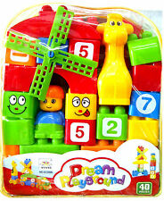 Educational Toys 40 pieces Dream Playground Blocks Set for Kids