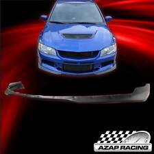 2006 Ralli Style Blk PU Front Bumper Lip Spoiler For Mitsubishi Lancer EVO 9 IX
