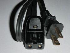"""Power Cord for La Belle Silver Super-matic Coffee Maker Percolator (2pin) 36"""""""