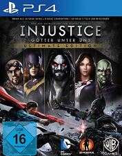 Injustice: Götter unter uns -- Ultimate Edition (Sony PlayStation 4, 2013, DVD-B